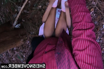 Legs up feet back missionary interracial