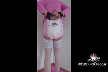 Mommy diaper change abdl adult baby boy pov