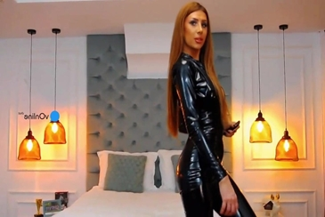 Teen ginger latex catsuit omnibod webcam stream
